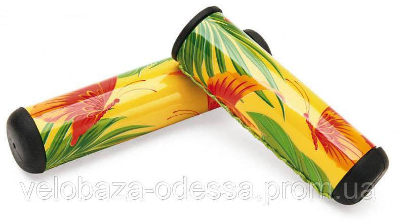 Грипсы Electra Butterfly 2 long yellow, фото 2