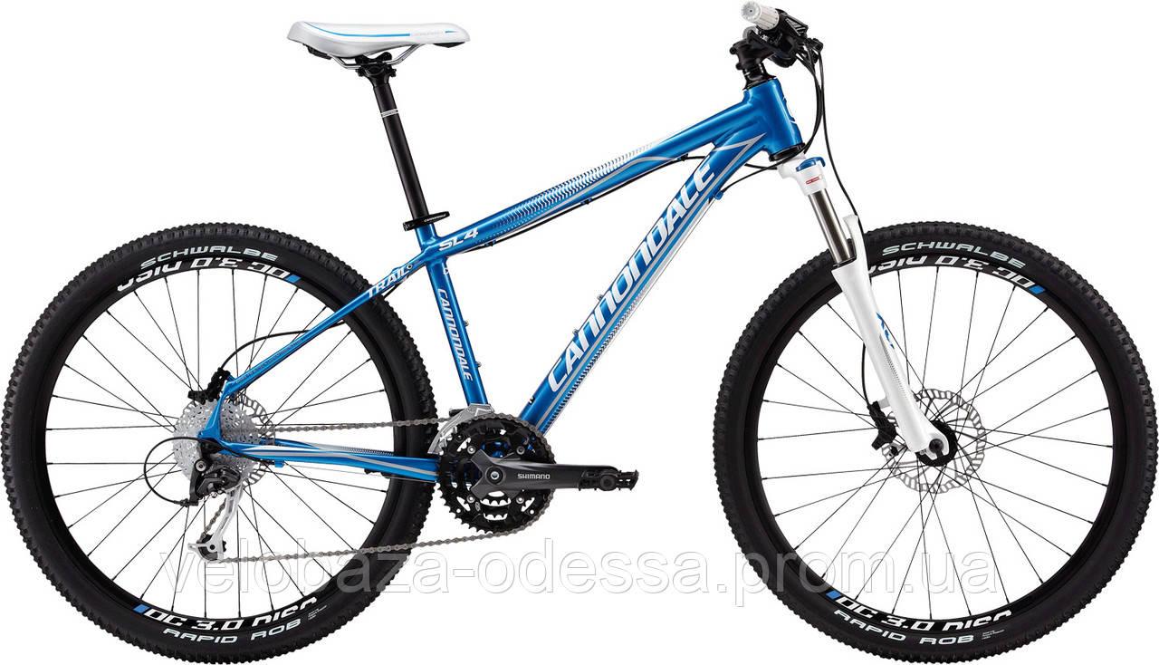 "Велосипед 26"" Cannondale TRAIL SL 4 Feminine рама - M 2013 синий"