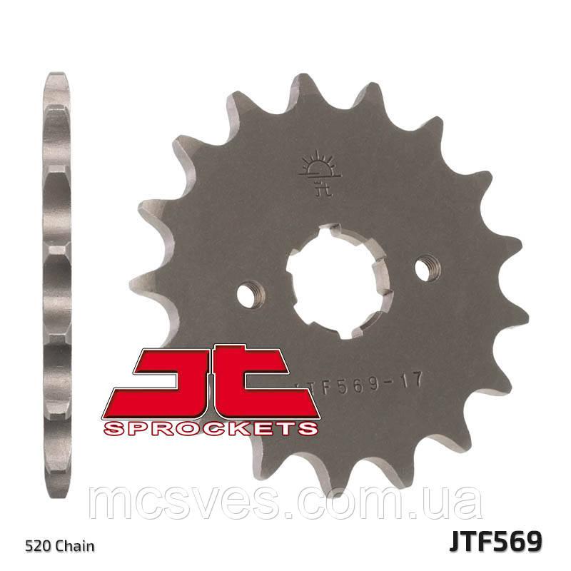 Звезда стальная передняя JT Sprockets JT JTF569.14