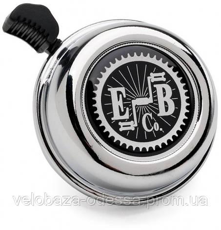 Звонок Electra EBC Gear Logo, chrome, фото 2