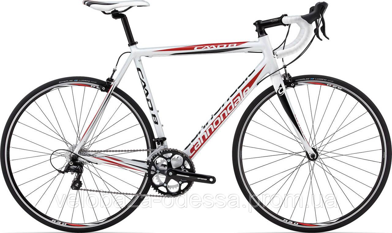 """Велосипед 28"""" Cannondale CAAD8 7 Sora C рама - 56см 2013 белый"""