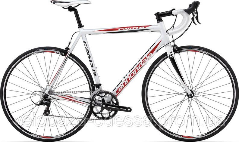 "Велосипед 28"" Cannondale CAAD8 7 Sora T рама - 51см 2013 белый, фото 2"