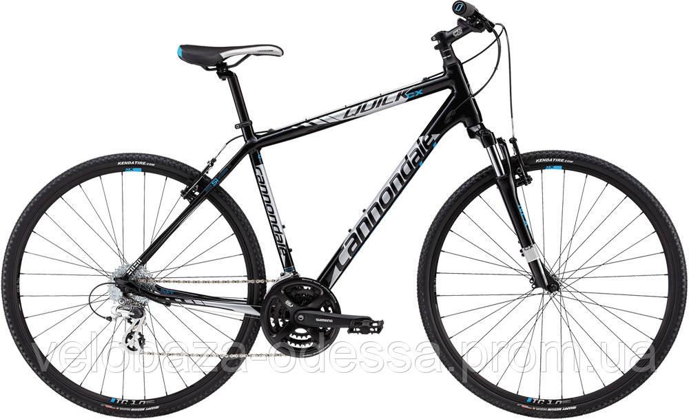"Велосипед 28"" Cannondale QUICK CX 5 рама - L 2013 черн."