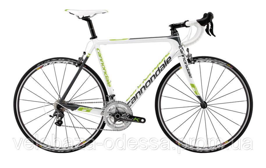 "Велосипед 28"" Cannondale SUPERSIX 3 Ultegra D рама - 52см 2013 белый"