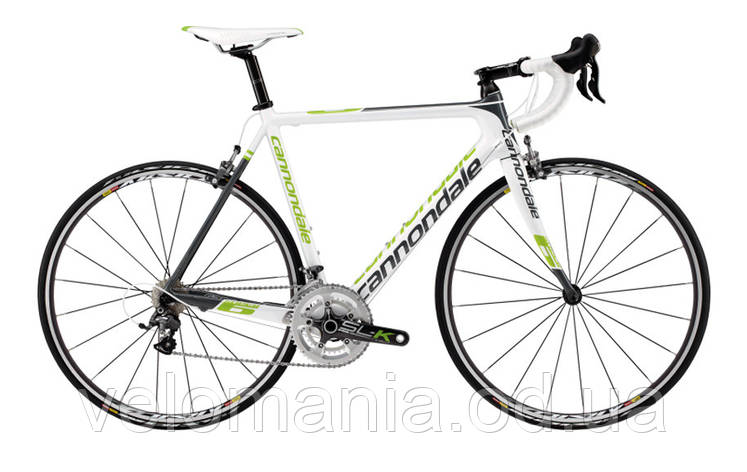 "Велосипед 28"" Cannondale SUPERSIX 3 Ultegra D рама - 52см 2013 белый, фото 2"