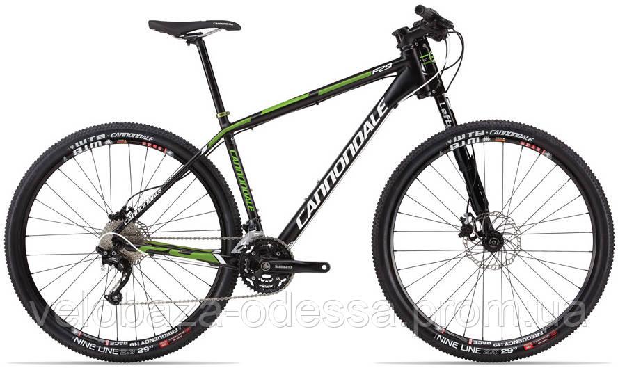 "Велосипед 29"" Cannondale FLASH F2 Alu рама - M 2013 черно-матовый"