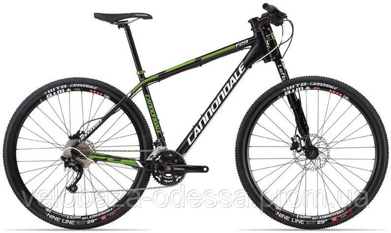 "Велосипед 29"" Cannondale FLASH F2 Alu рама - M 2013 черно-матовый, фото 2"