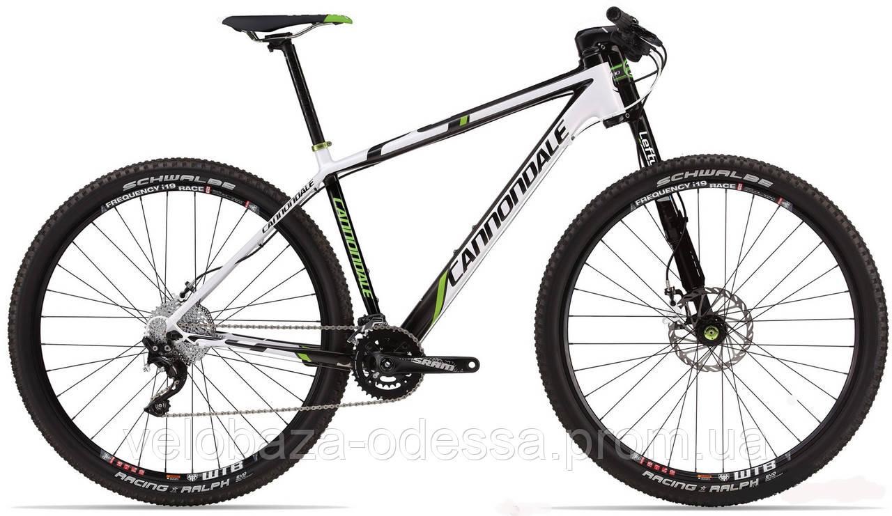 "Велосипед 29"" Cannondale FLASH Carbon 3 рама - M 2013 белый"