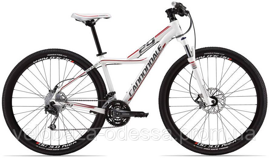 """Велосипед 29"""" Cannondale TANGO SL 2 Feminine рама - M 2013 белый"""