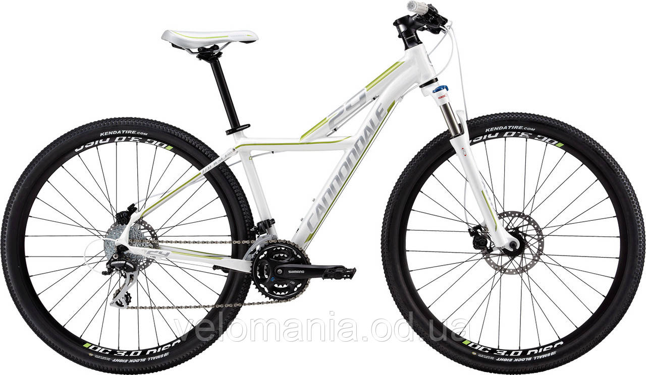 """Велосипед 29"""" Cannondale TANGO SL 3 Feminine рама - M 2013 белый"""