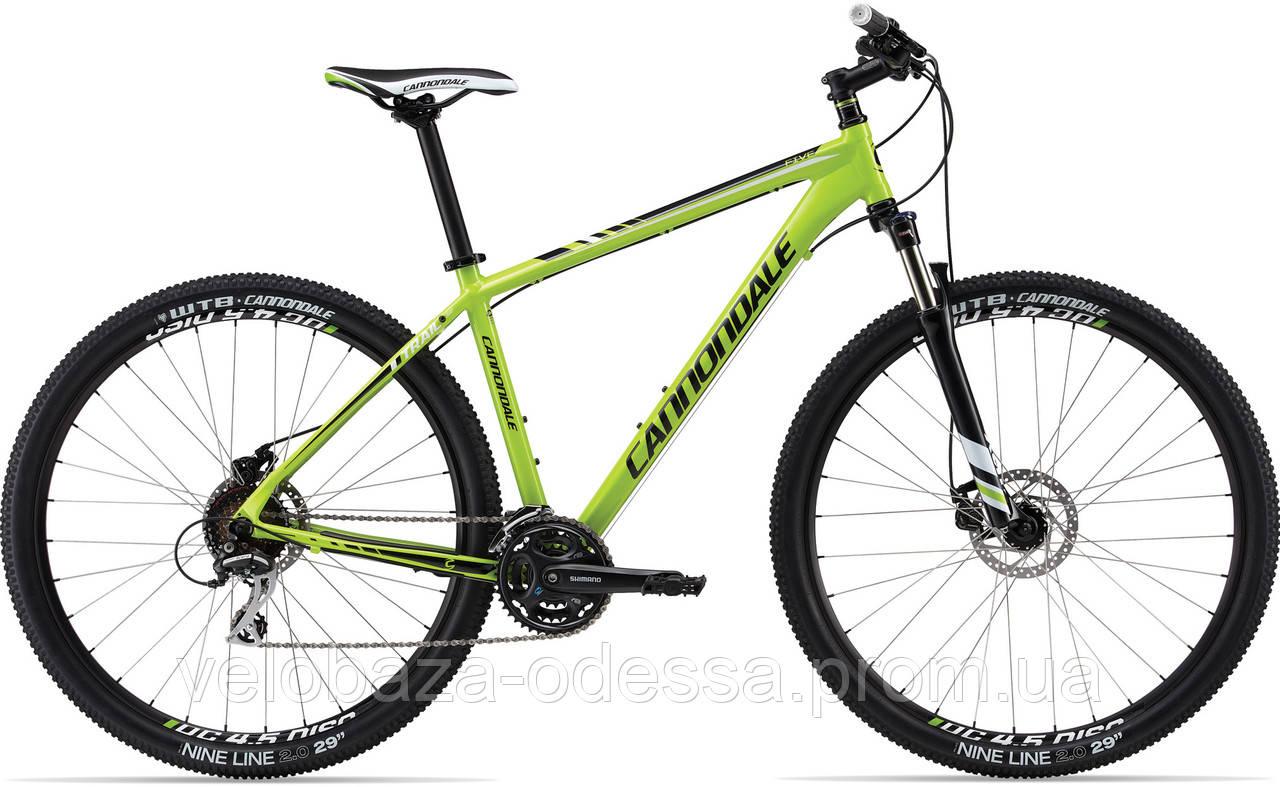 "Велосипед 29"" Cannondale TRAIL 5 рама - M 2013 зелен."