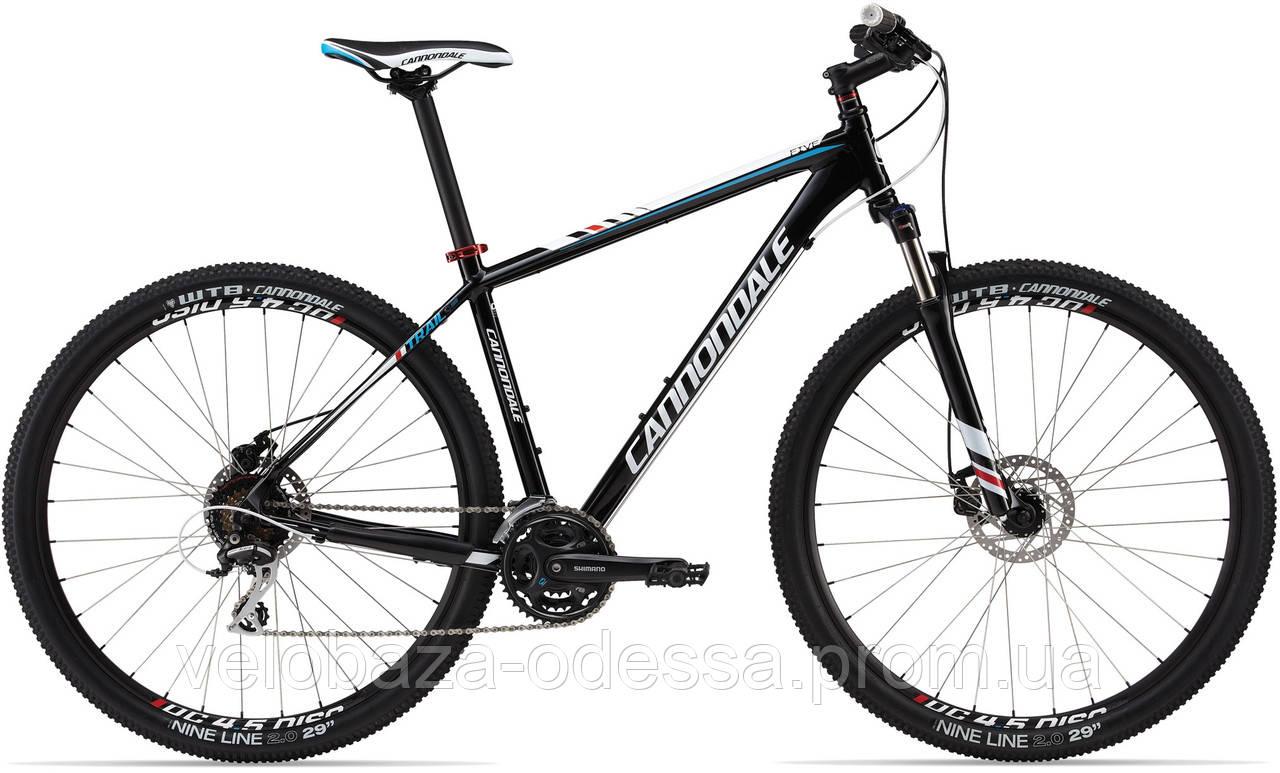 """Велосипед 29"""" Cannondale TRAIL 5 рама - S 2013 черн."""