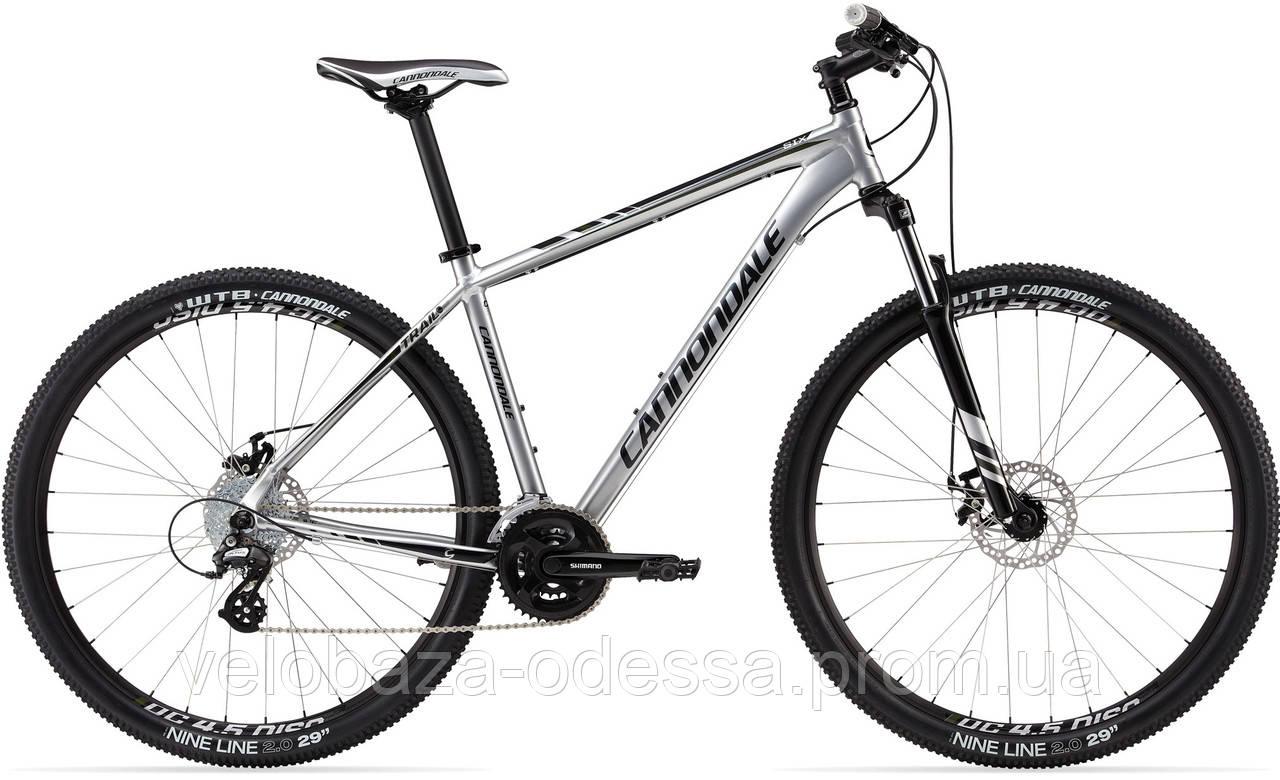 """Велосипед 29"""" Cannondale TRAIL 6 рама - S 2013 серебр."""