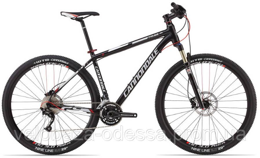 "Велосипед 29"" Cannondale TRAIL SL 1 рама - L 2013 черно-матовый"