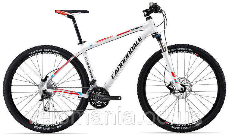 "Велосипед 29"" Cannondale TRAIL SL 4 рама - L 2013 белый"