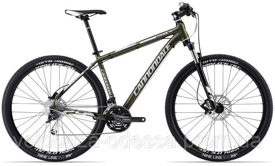 "Велосипед 29"" Cannondale TRAIL SL 4 рама - M 2013 зелен."
