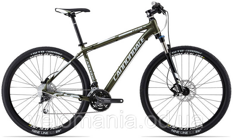 """Велосипед 29"""" Cannondale TRAIL SL 4 рама - M 2013 зелен., фото 2"""