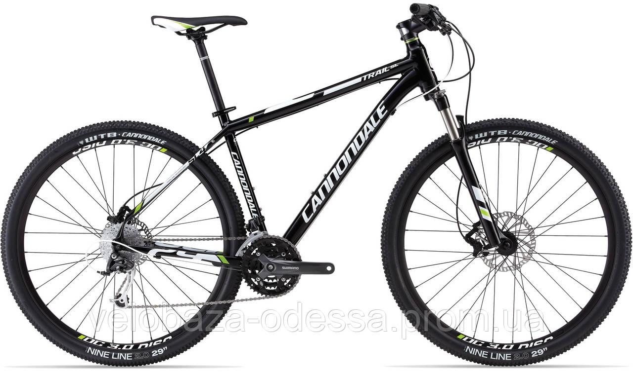 """Велосипед 29"""" Cannondale TRAIL SL 4 рама - M 2013 черн."""
