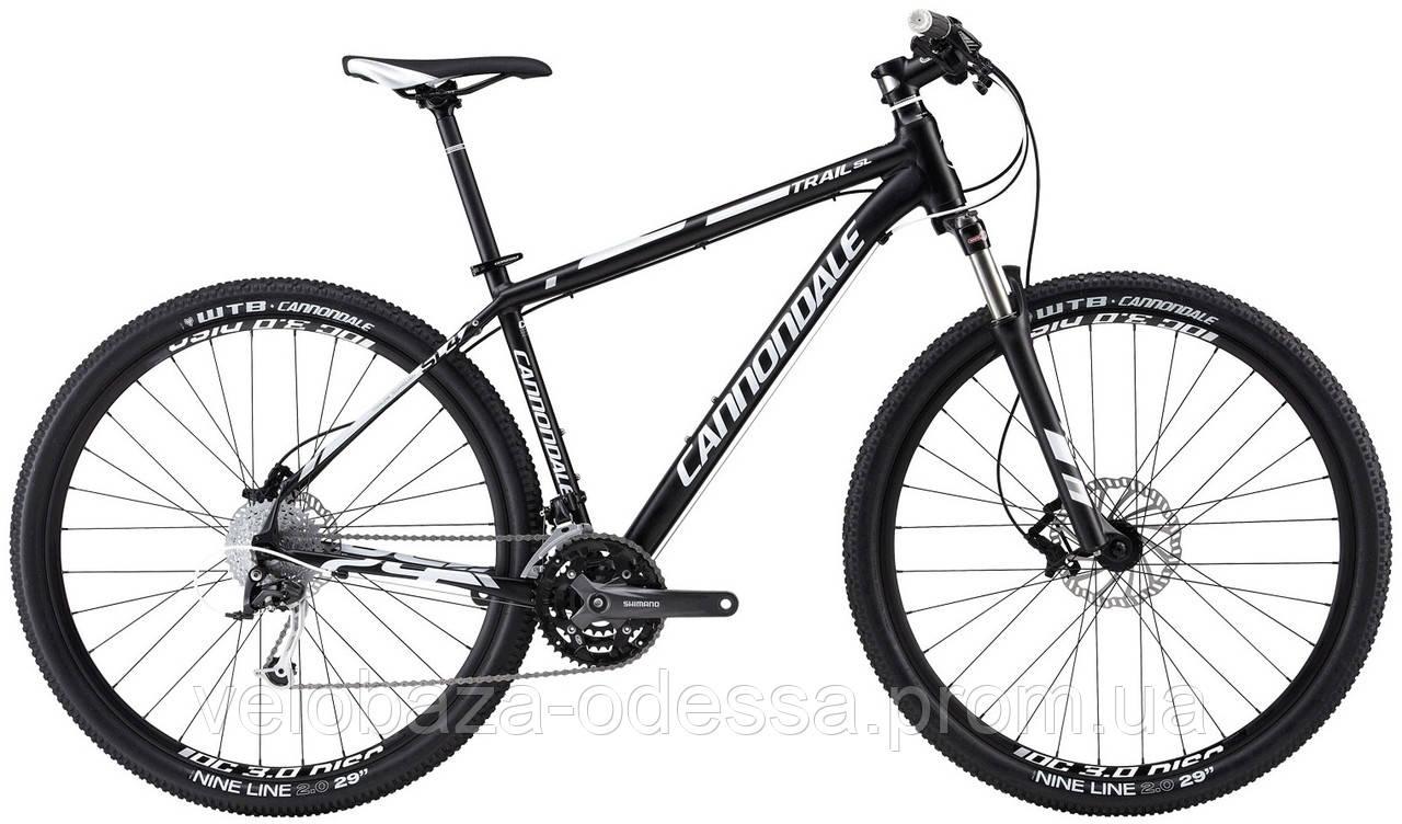 "Велосипед 29"" Cannondale TRAIL SL 4 рама - M 2013 черно-матовый"