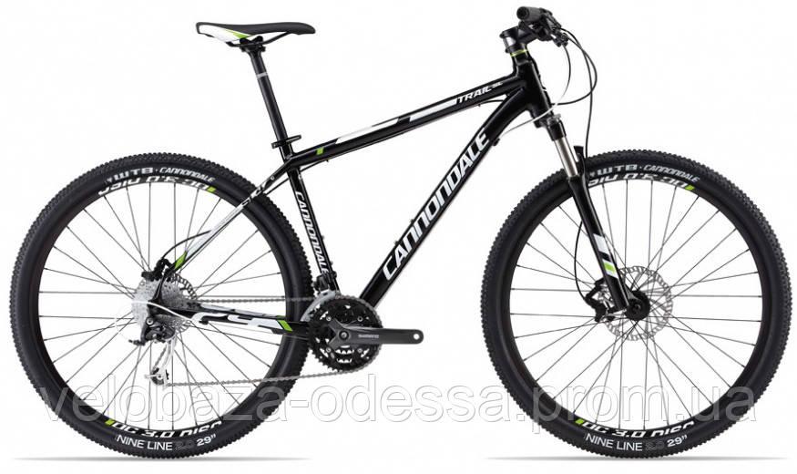 "Велосипед 29"" Cannondale TRAIL SL 4 рама - XL 2013 черно-матовый"