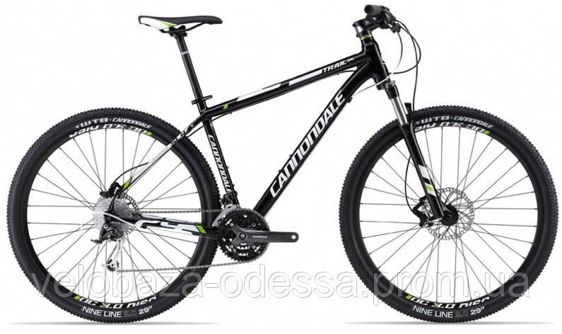 "Велосипед 29"" Cannondale TRAIL SL 4 рама - XL 2013 черно-матовый, фото 2"