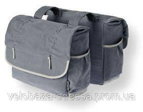Сумка-штаны на/баг Basil ELEMENTS-DOUBLE BAG 38 л., faded blue, фото 2