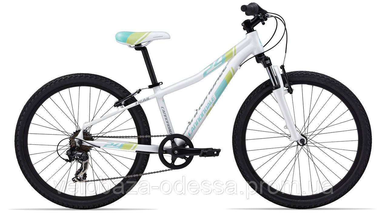 "Велосипед 24"" Cannondale TRAIL GIRLS 2014 белый"