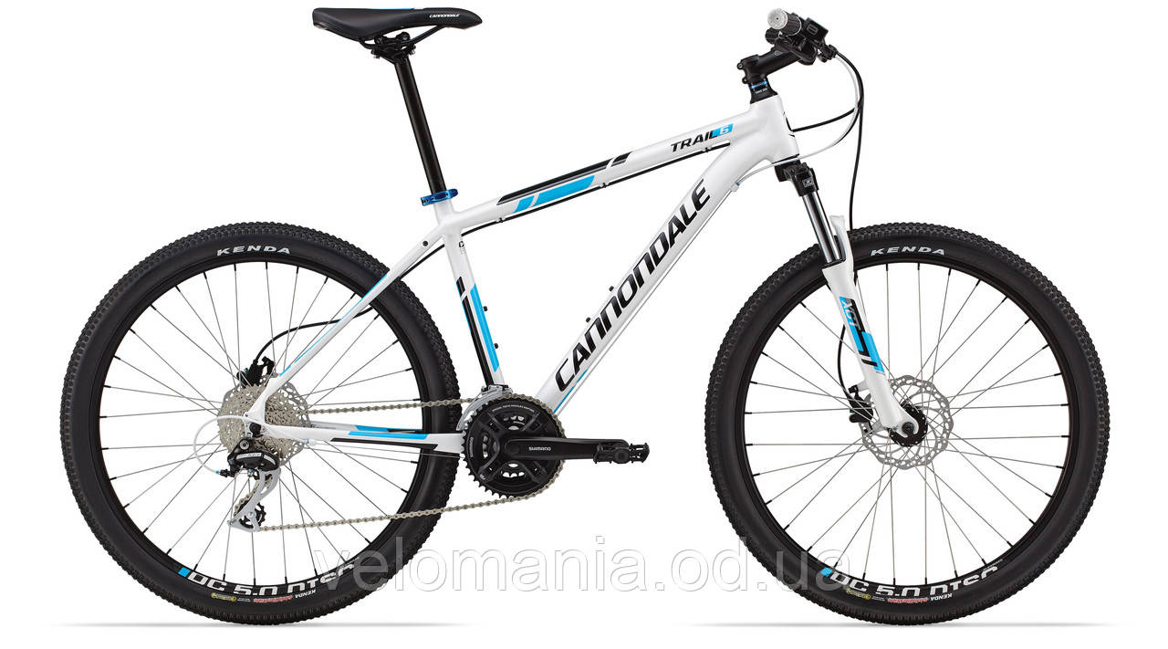 "Велосипед 26"" Cannondale TRAIL 6 рама - L 2014 белый"