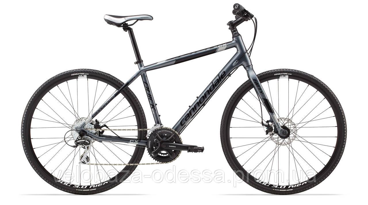 "Велосипед 28"" Cannondale QUICK CX 4 механ. диск рама - L 2014 сер."