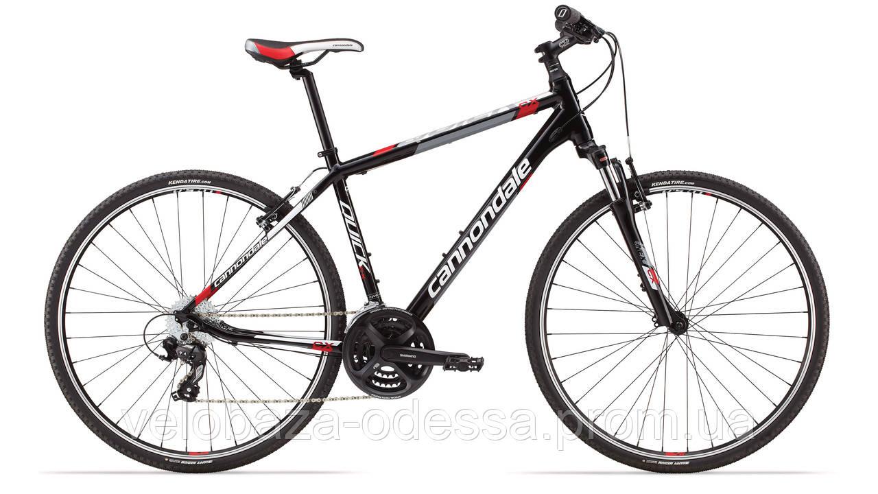 "Велосипед 28"" Cannondale QUICK CX 5 рама - L 2014 черн."