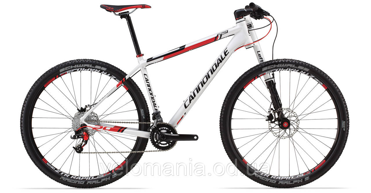 "Велосипед 29"" Cannondale F4 Alloy 4 рама - XL 2014 белый"