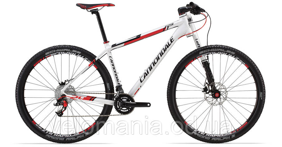 "Велосипед 29"" Cannondale F4 Alloy 4 рама - XL 2014 белый, фото 2"
