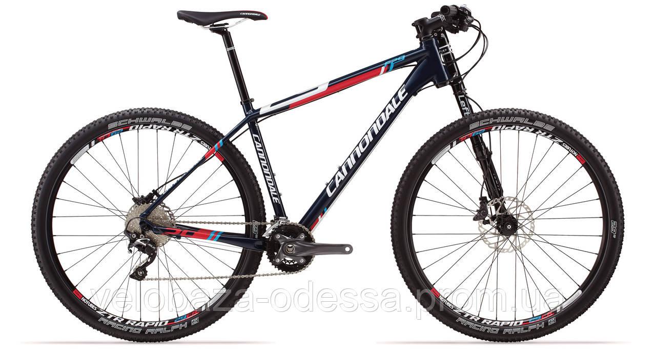 """Велосипед 29"""" Cannondale F5 Alloy 5 рама - L 2014 синий"""
