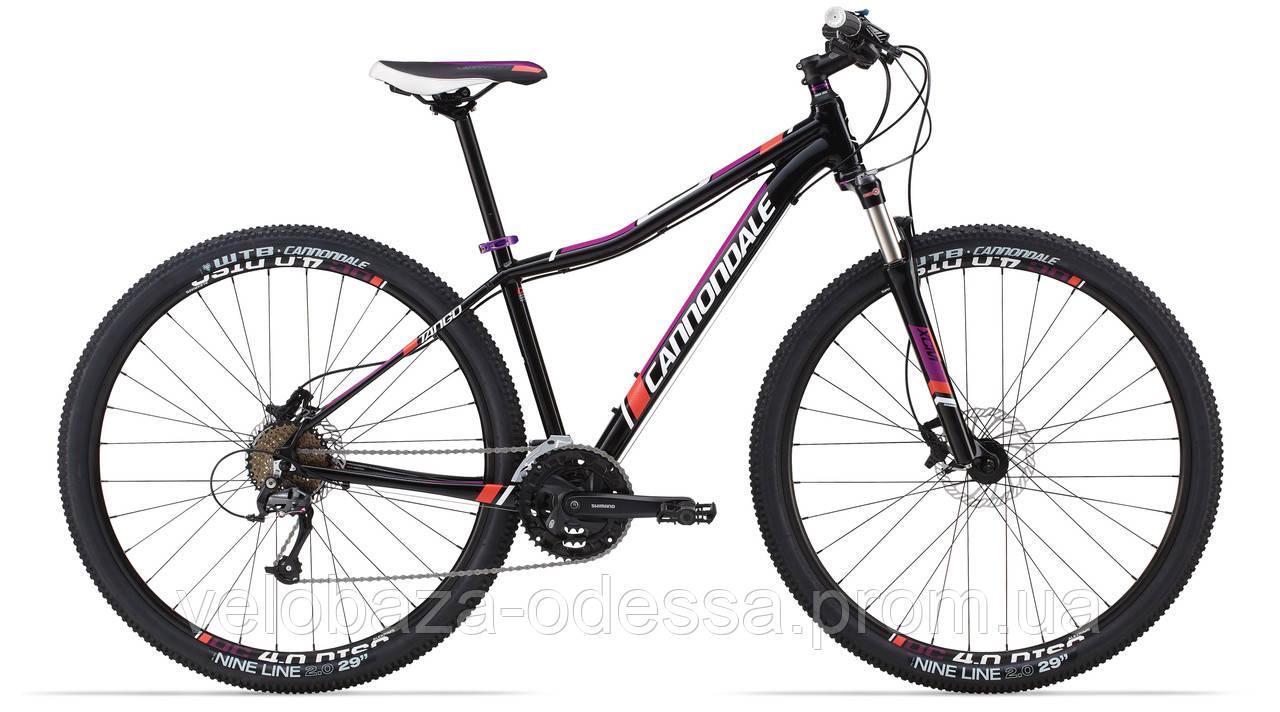 """Велосипед 29"""" Cannondale TANGO 5 Feminine рама - M 2014 черн."""