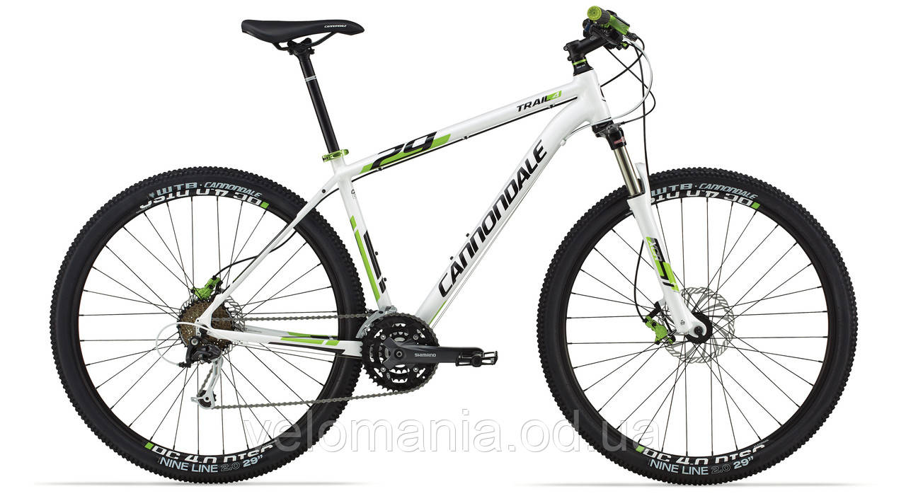 "Велосипед 29"" Cannondale TRAIL 4 рама - L 2014 белый"