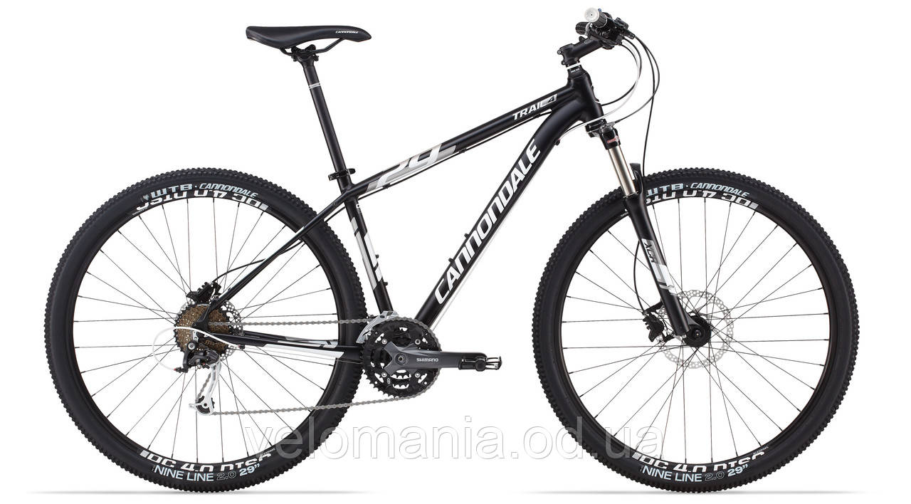 "Велосипед 29"" Cannondale TRAIL 4 рама - M 2014 черно-матовый"