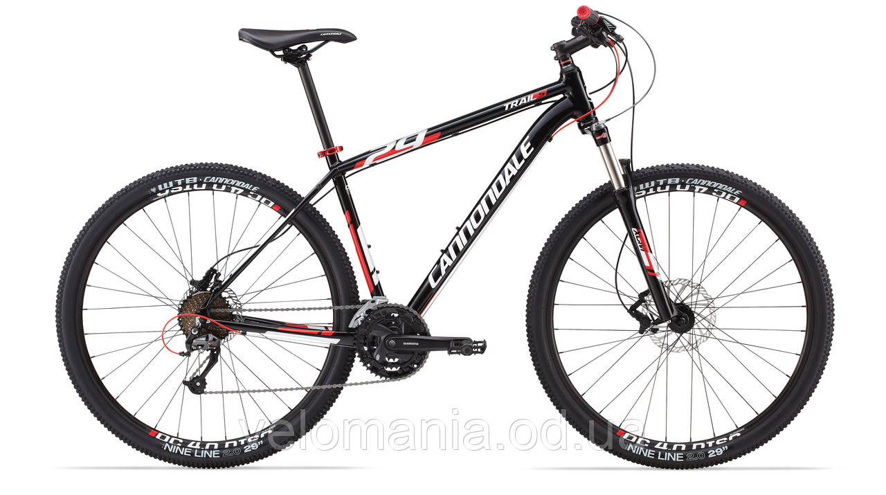 "Велосипед 29"" Cannondale TRAIL 5 рама - L 2014 черн."