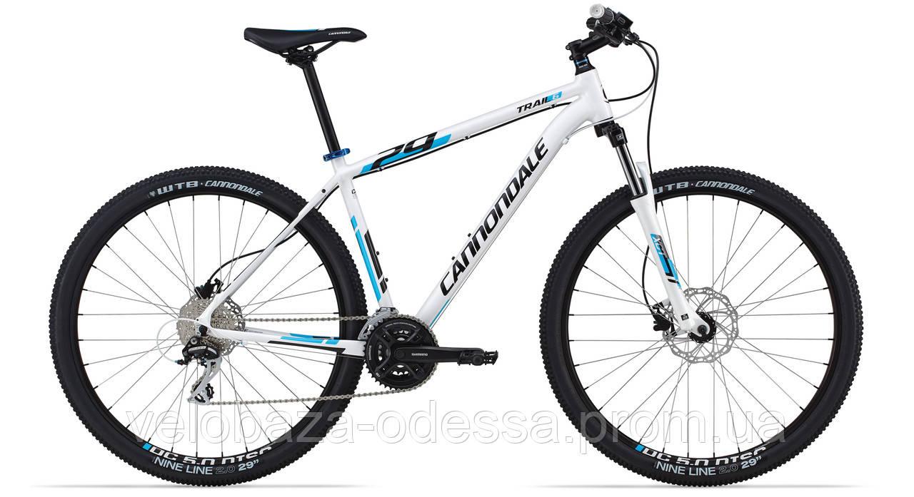 "Велосипед 29"" Cannondale TRAIL 6 рама - L 2014 белый"