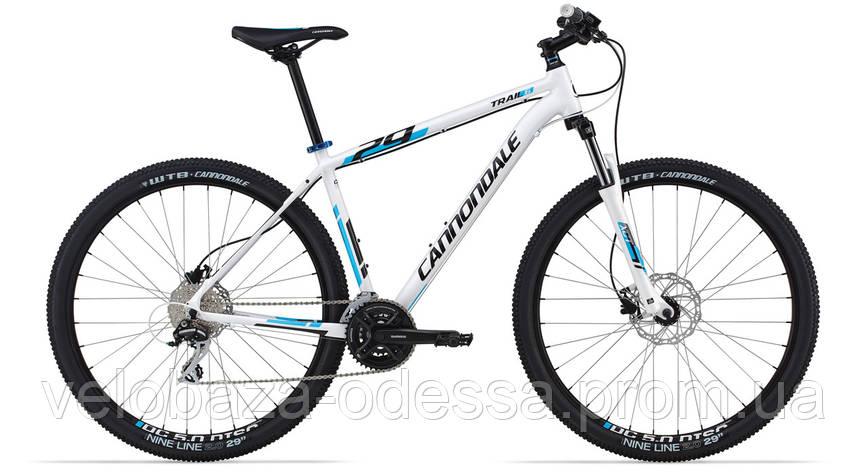 "Велосипед 29"" Cannondale TRAIL 6 рама - L 2014 белый, фото 2"