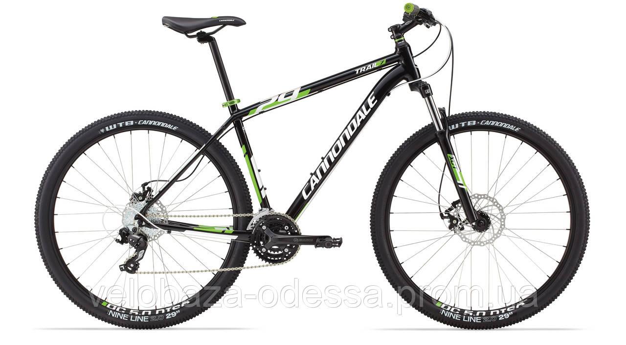 """Велосипед 29"""" Cannondale TRAIL 7 рама - J 2014 черн."""