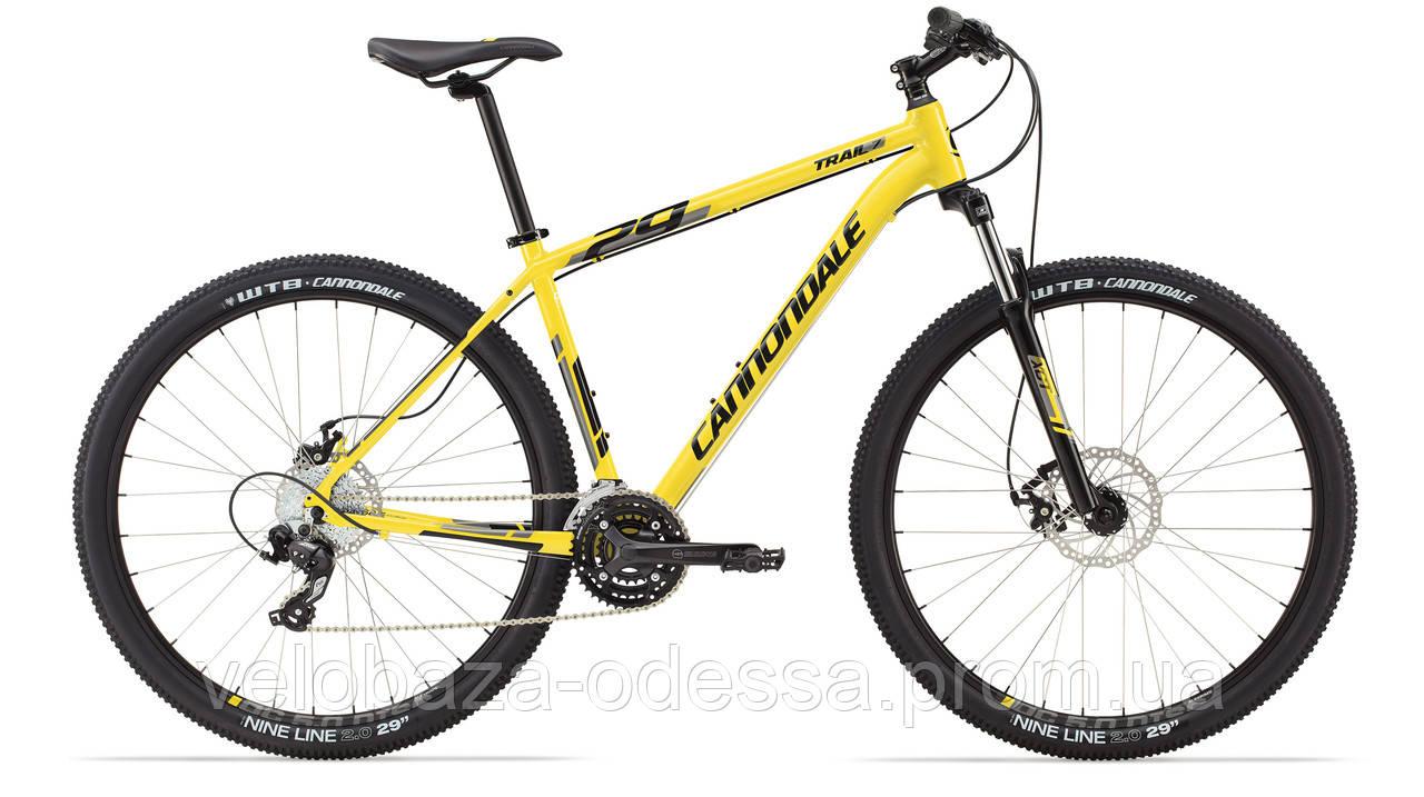 "Велосипед 29"" Cannondale TRAIL 7 рама - L 2014 жёлт."
