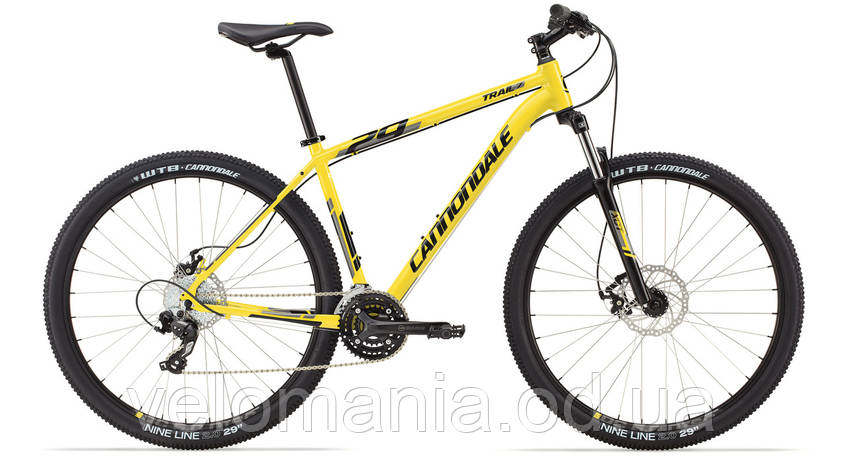 """Велосипед 29"""" Cannondale TRAIL 7 рама - L 2014 жёлт., фото 2"""