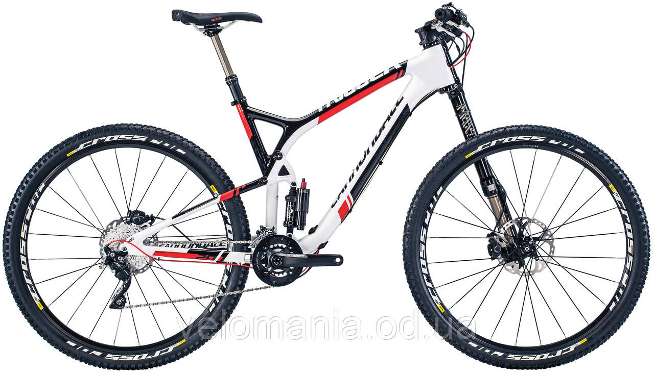 "Велосипед 29"" Cannondale TRIGGER Carbon 2 рама - L 2014 белый"