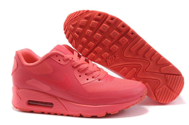 a4d905e04797 Кроссовки женские Nike Air Max 90 Hyperfuse (в стиле найк аир макс)  коралловые -