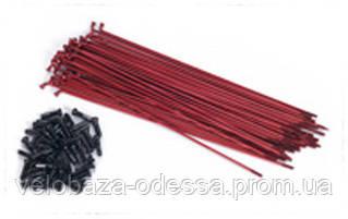 Спица 184мм MacNeil с двойным баттингом red w/alloy nipples (38шт/уп)