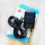Сетевое зарядное устройство Meizu Travel adapter + Micro Usb Black, фото 2