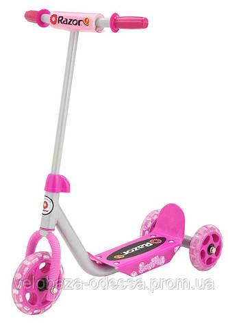 Самокат дет. Razor Lil Kick 3-колесный pink, фото 2