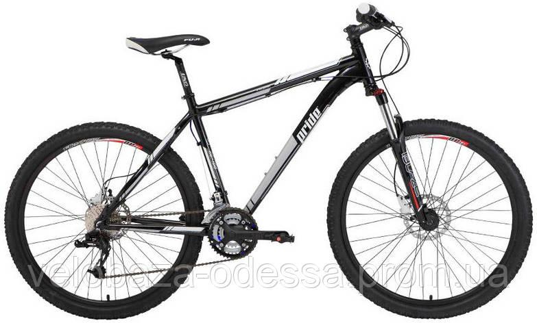 "Велосипед 26"" Pride XC-400 рама - 17"" 2012 черн., фото 2"