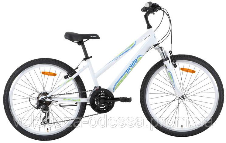 """Велосипед 24"""" Pride LANNY бело-зеленый 2013, фото 2"""