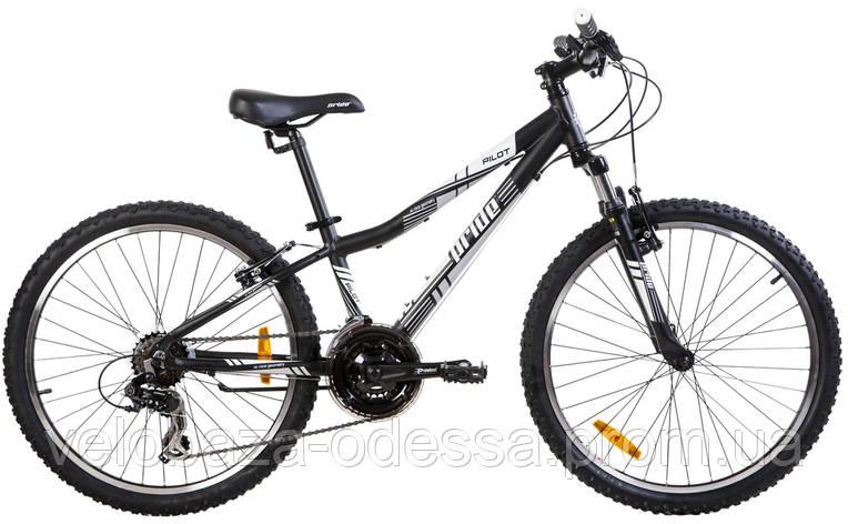 "Велосипед 24"" Pride PILOT черн-бел 2013, фото 2"